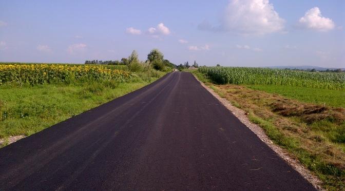 Autoritățile din Fălticeni anunță că procesul de modernizare al drumurilor publice va continua
