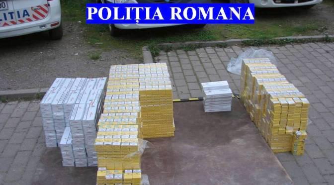 Atenţie sporită a poliţiştilor în cazul transporturilor de ţigarete de contrabandă