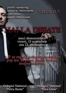 debate vineri 13