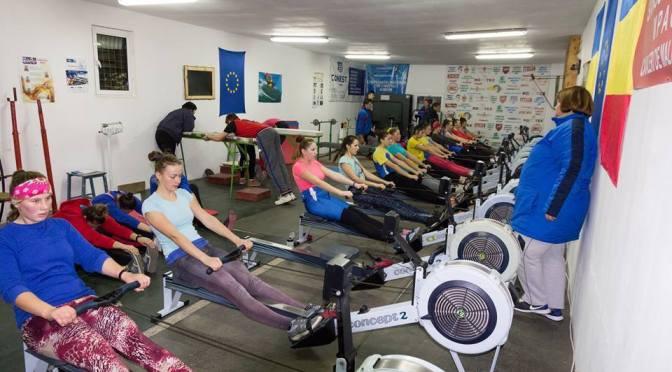 Canotorii din Fălticeni au încheiat sezonul 2015 pe ergometre