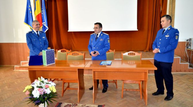 Comandant interimar la Școala Militară de Subofiţeri de Jandarmi Fălticeni
