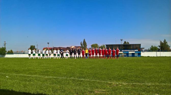 Armonia Fălticeni a încheiat campionatul la un punct de podium