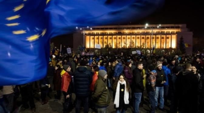 Cum se vad protestele la televiziunile de stiri