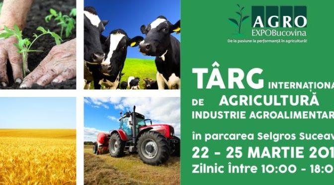 Începe Agro Expo Bucovina 2018