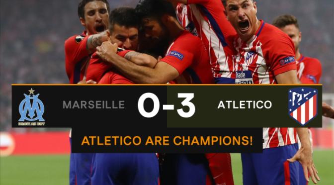 Atletico Madrid a câștigat Europa League 2018