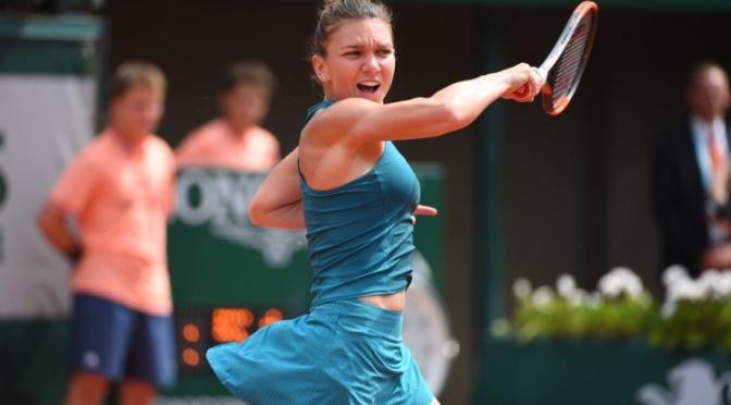 Simona Halep o va întâlni pe Garbine Muguruza în semifinale la Roland Garros