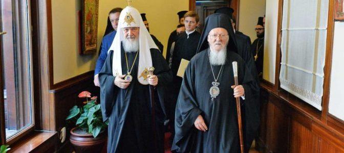 Biserica Ortodoxă Rusă rupe legăturile cu Patriarhia de la Constantinopol