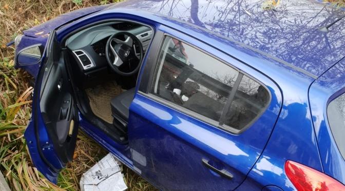 Bărbat declarat decedat după ce mașina pe care o conducea a ieșit în afara carosabilului