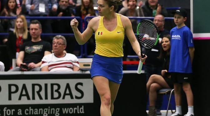 România s-a calificat dramatic în semifinalele Fed Cup