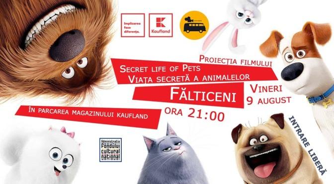 Kaufland invită copiii din Fălticeni la film